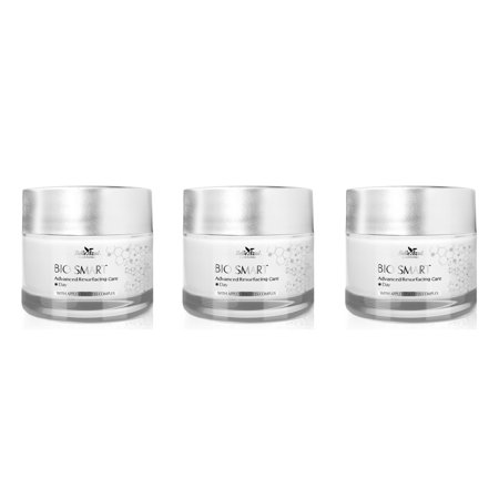 (Belle Azul Bio Smart Advanced Resurfacing Care – Firming & Lifting Day Treatment Cream with Botox-Like Peptides and Apple Stem Cells Complex 50ml / 1.67 fl.oz (Pack of 3))