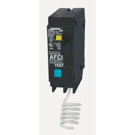 Siemens Q115AF 15-Amp 1 Pole 120-Volt Arc Fault Circuit