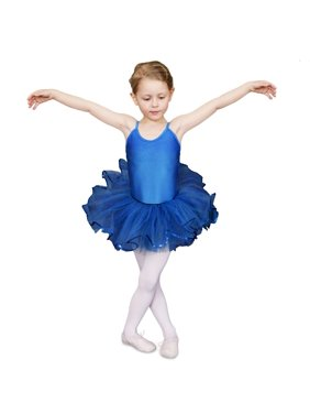 Sansha Girls Royal Blue 3 Layers Sequin Edge Fifi Dance Tutu Trunk 4-18