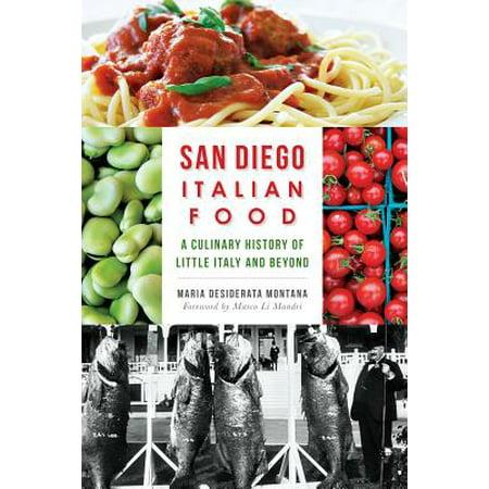 San Diego Italian Food - eBook