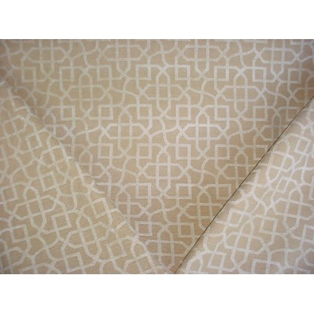 P Kaufmann / Braemore / Waverly Zinnia in Champagne - Celtic Knot / Scroll Chenille Designer Upholstery Drapery Fabric - By the Yard