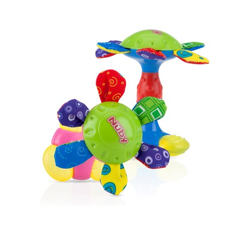 Nuby Teethe & Play Barbell Teether