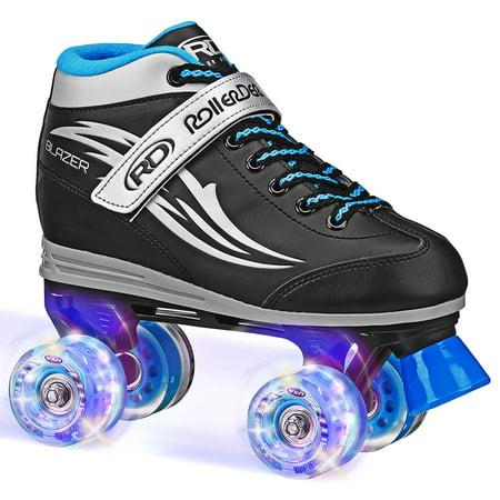 Roller Derby Blazer Boys Lighted Wheel Roller Skate