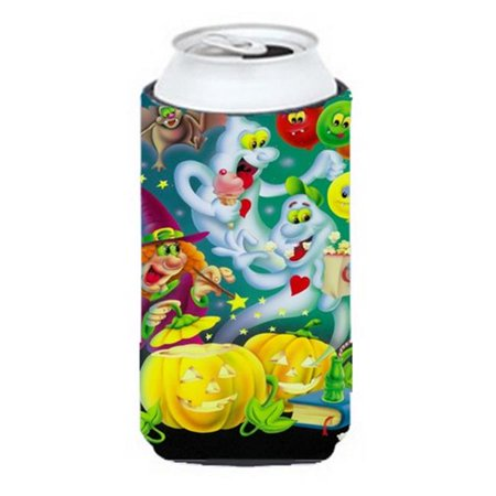 Witch Party with the Ghosts Halloween Tall Boy Can cooler - Dry Ice Ideas For Halloween Party