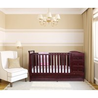 AFG Baby Furniture Daphne 2-in-1 Convertible Crib and Changer
