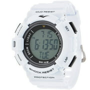 HR4 Heart Rate Monitor Watch with Transmitter Belt, White Plastic Band