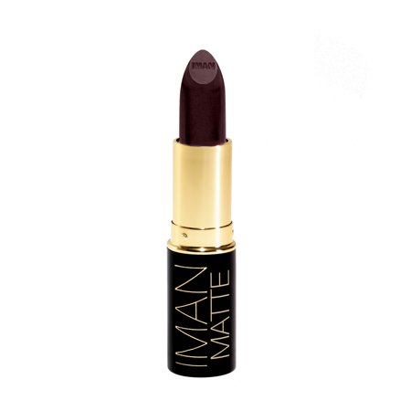 IMAN Cosmetics Luxury Matte Lipstick, Obsession - Iman Luxury Moisturizing Lipstick