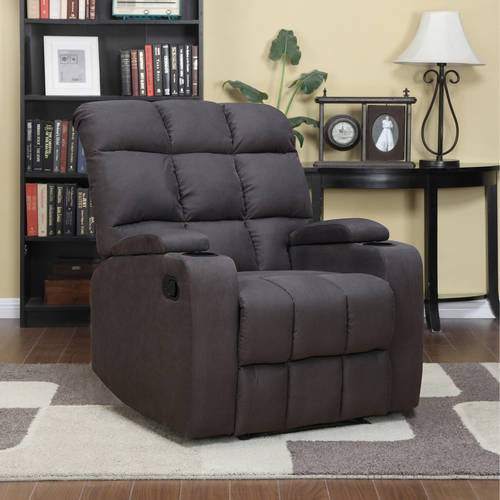Mainstays Tyler Wall Hugger Storage Arm Recliner Chair, Multiple Colors