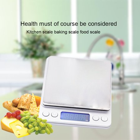 3Kg 0.1G Digital Kitchen Scales Counting Weighing Electronic Balance Scale Sf-400A Electronic Lcd Backlight - image 1 of 7