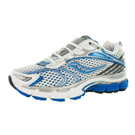 c1aee98e4fdd Saucony Progrid Triumph 7 Wide Womens Shoes White aqua silver Size -  Walmart.com