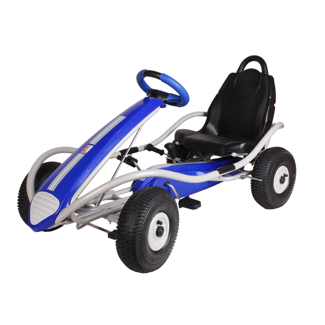 Kettler Kiddi-O Dakar Racer S Carbon Fiber Racing Ride On Pedal Go Kart