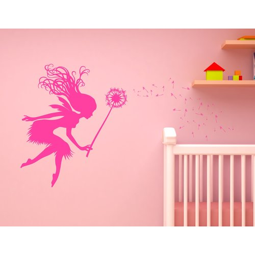Innovative Stencils Fairy Tale Dandelion Wand Nursery Wall Decal