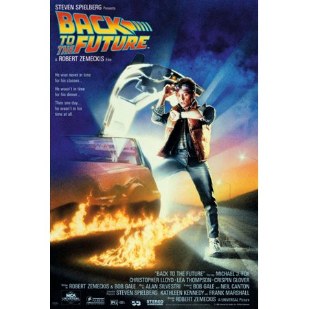 Back Movie Photo (Back To The Future - Movie Poster / Print (Regular Style) (Size: 27