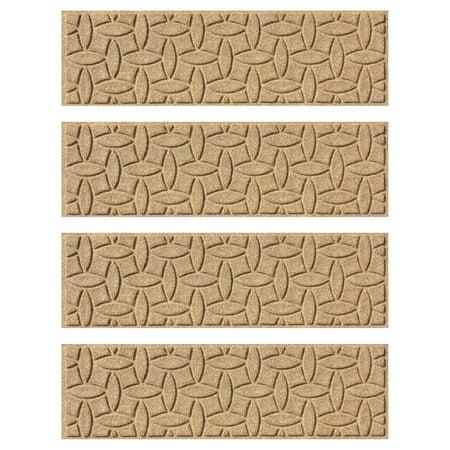 - Bungalow Flooring Ellipse Indoor/Outdoor Stair Treads - Set of 4