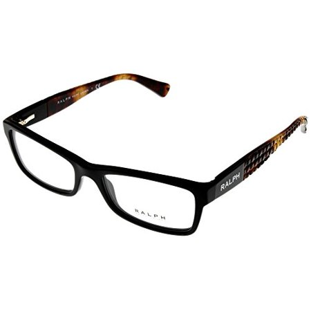 Ralph by Ralph Lauren Women Prescription Eyewear Frames Black/Brown RA7059 501 Size: Lens/ Bridge/ Temple: (Ralph Lauren Eyeglasses For Women)