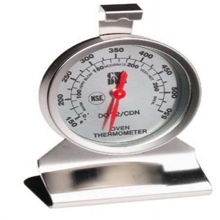 Cdn Nsf High Heat Oven Thermometer Temperature Test Kitchen ...