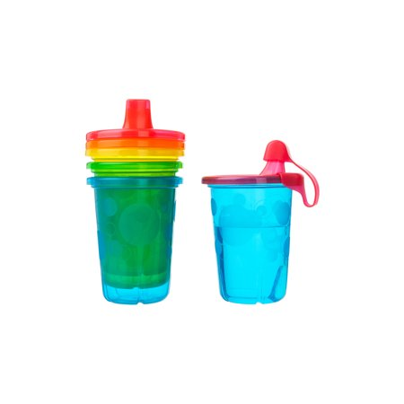 Take & Toss Spill-Proof Sippy Cups 4 Pk (Best Beginner Sippy Cup 2019)
