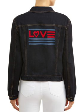 EV1 from Ellen DeGeneres Love Flag Denim Jacket