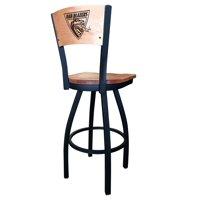 """Alabama Birmingham Stool Cushion Swivel Seat - 36"""" Engraved Logo Back"""