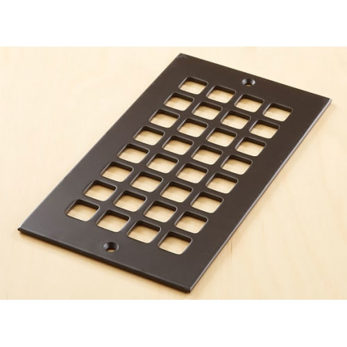 "Reggio Registers G610-SH Grid Series 8"" x 4"" Grille with Mounting Holes"