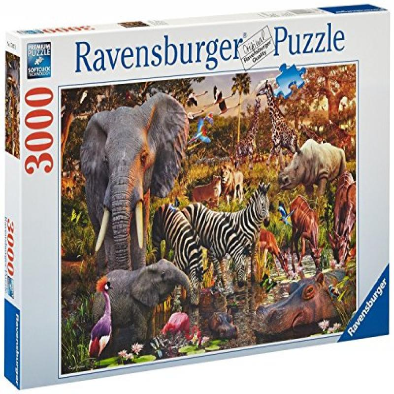 Ravensburger African Animals 3000 Piece Puzzle by