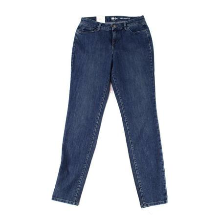 STYLE & CO NEW Blue Women's Size 6 Curvy Fit Slim Skinny Leg (Best Jeans For Curvy Figure Uk)