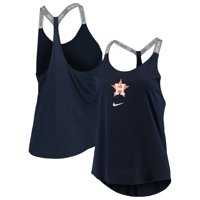 Houston Astros Nike Women's Elastika Performance Tank Top - Navy