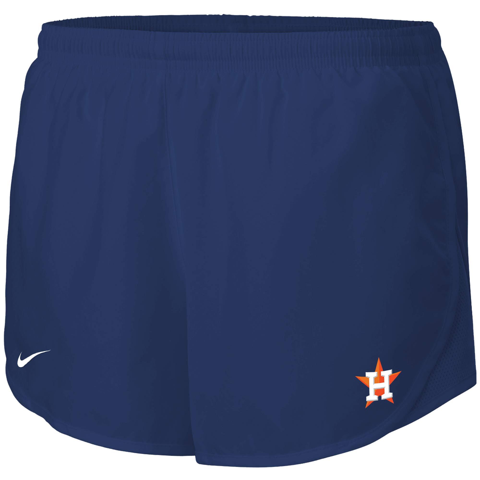 Houston Astros Nike Women's Mod Tempo Performance Shorts - Navy