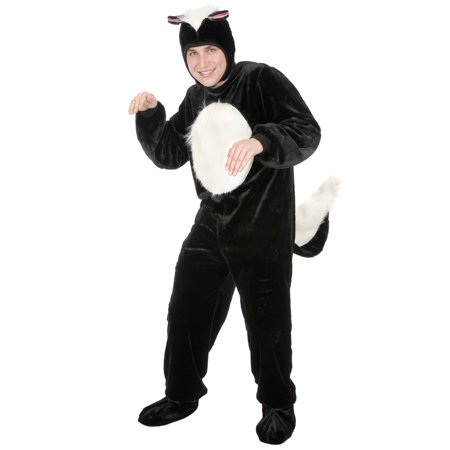 Skunk Adult Costume (Adult Skunk Costume)