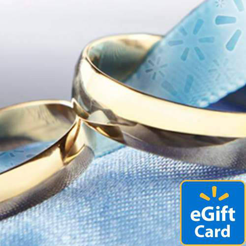 Wedding Rings Walmart eGift Card