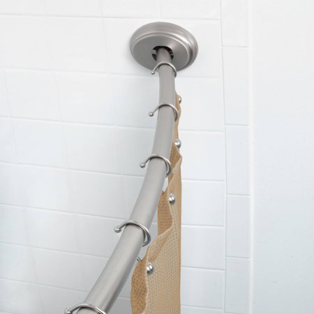 Better Homes and Gardens Dual-Installation Single-Curved Rod, 72 ...