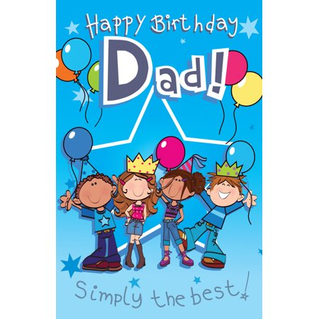 Singing Card- Happy Birthday Dad - Singing Happy Birthday