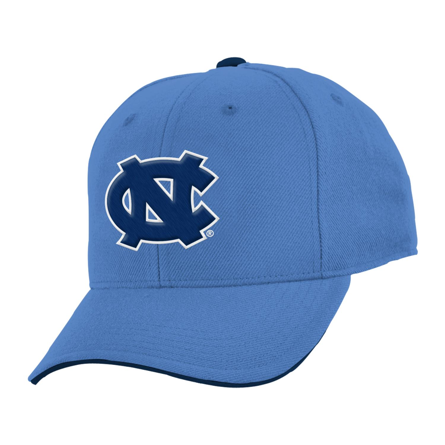 "North Carolina Tarheels Youth NCAA ""Basic"" Structured Adjustable Hat"