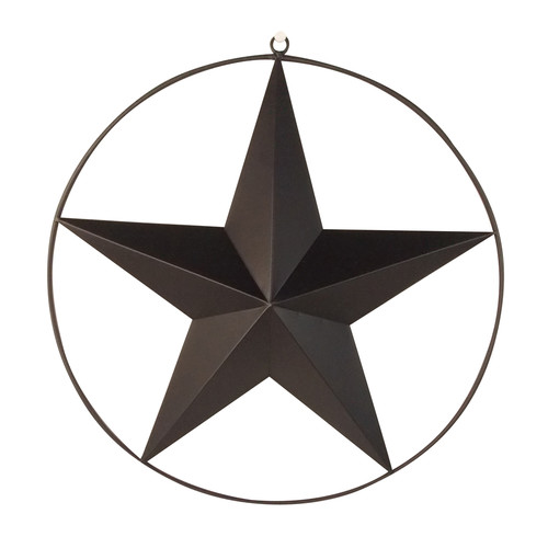 Craft Outlet Star Wall D cor with Wired Ring