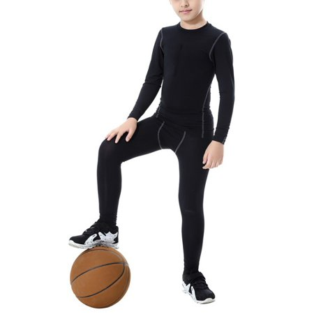 Child Sports Compression Base Layer T-Shirt (Best Base Layer For Kids)