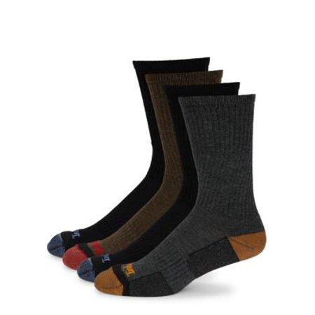 51c86ca93 Timberland - Timberland Men's 4 Pack Outdoor Leisure Crew Socks ...