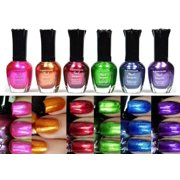 Kleancolor Nail Polish, Metallic Set, 6 Pieces