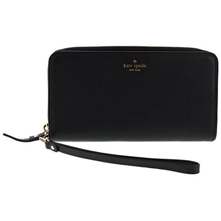 Kate Spade New York Mulberry Street Brigitta Wristlet Wallet Handbag (Black) ()