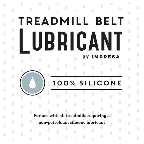 Impressa Products 100% Silicone Treadmill Belt Lubricant with Application  Tube - 4oz EZ-Squeeze bottle