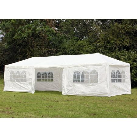 PALM SPRINGS 10' x 30' Party Tent Wedding Canopy Gazebo Pavilion w/Side Walls