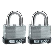 MASTER LOCK CO 2-Pack 1-Inch Warded Padlock