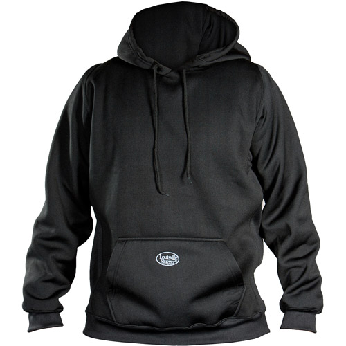 Louisville Slugger Adult Slugger Cold Weather Thermal Tech Hoodie, Black