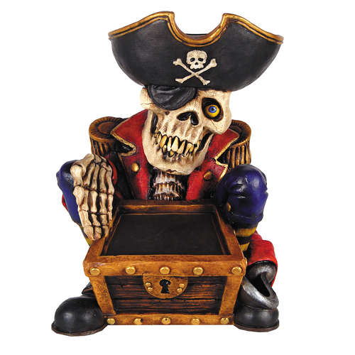 Halloween Pirate Skeleton Door Greeter