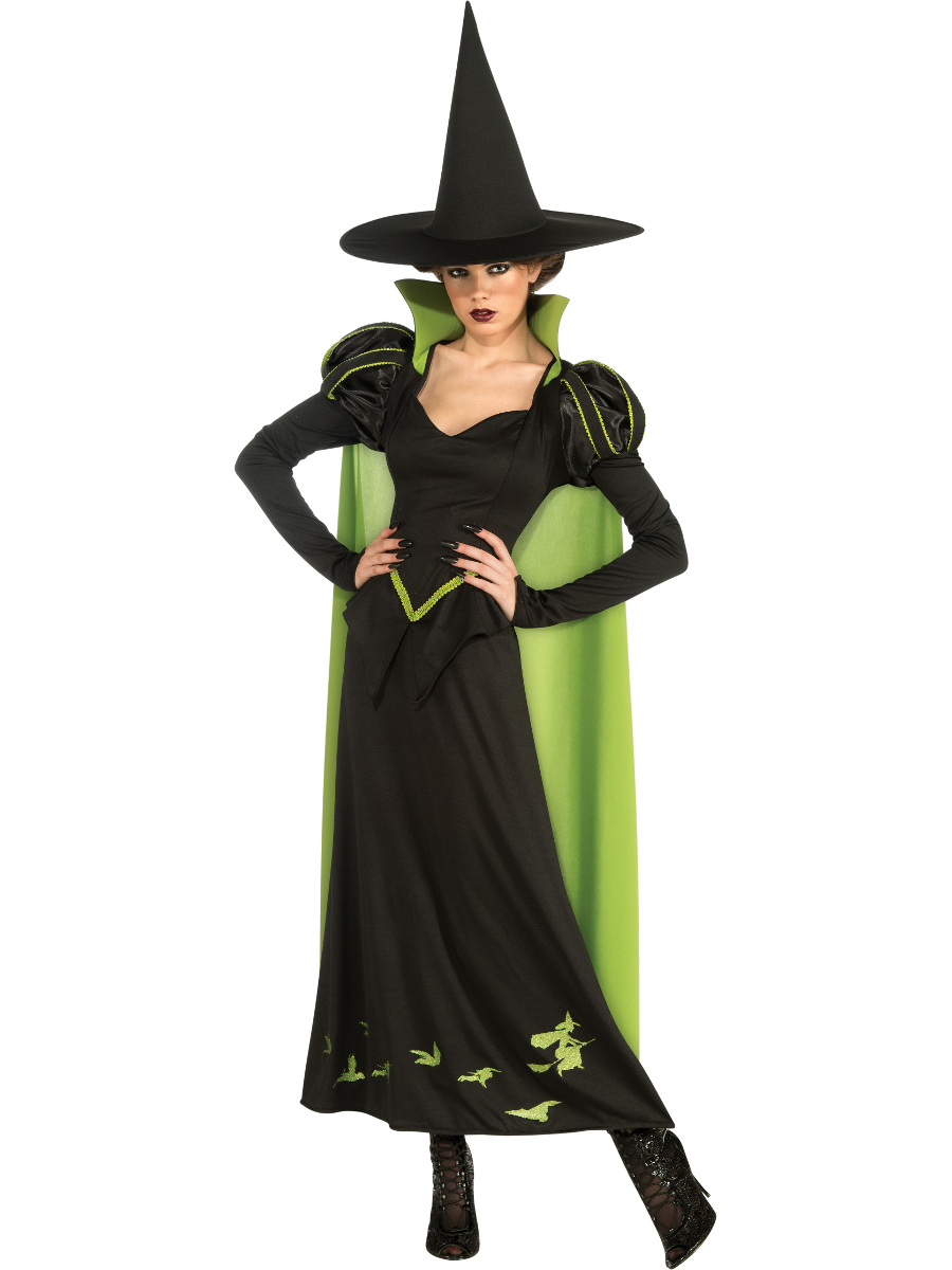 Women S Wicked Witch Of The West Costume Wizard Of Oz Walmart