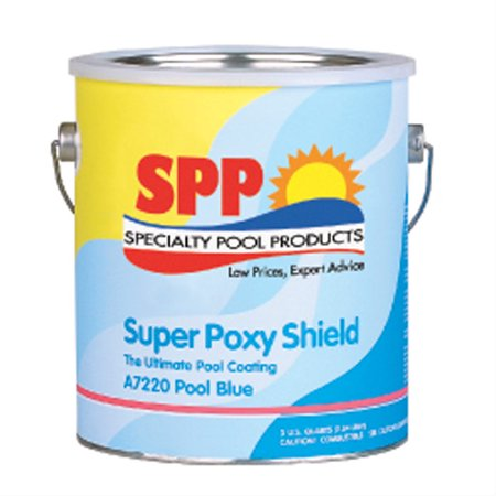 In The Swim Super Poxy Shield Epoxy-Base Swimming Pool Paint - Pool Blue 1 (Swimming Pool Deck Paint)