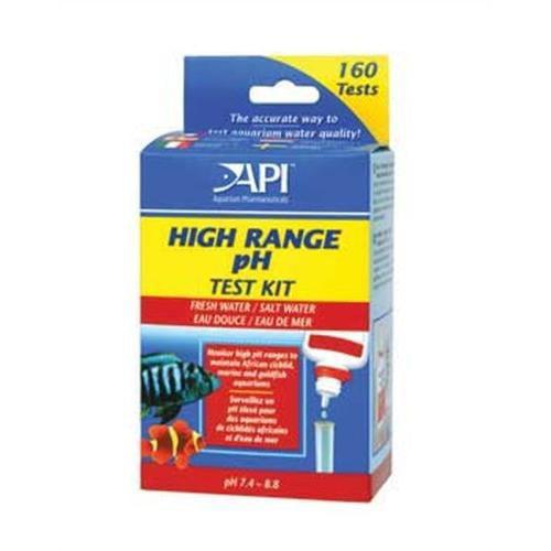 API High Range PH Test Kit 1 1/4 Fl Oz. Multi-Colored