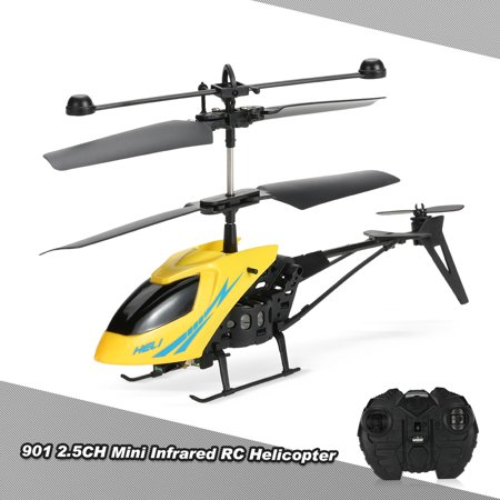 Infrared Rc Helicopter - MJ901 2.5CH Mini Infrared RC Helicopter Radio Remote Control Aircraft RC Drone Kids Gifts Baby Toys