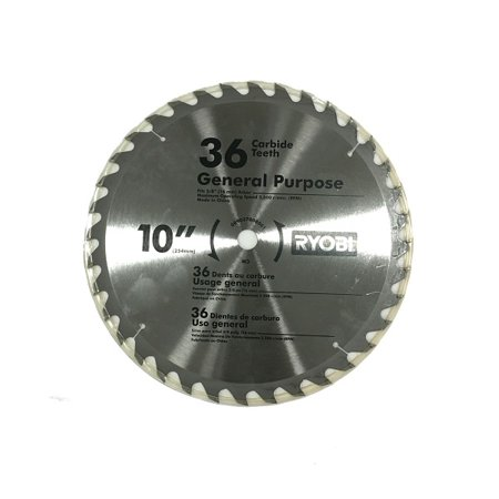 Ryobi 10 36 tooth 58 arbor carbide tipped table saw blade ryobi 10 36 tooth 58 arbor carbide tipped table saw blade greentooth Image collections