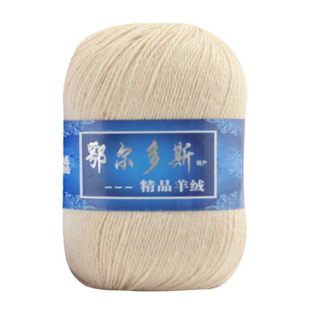 Tuscom 1pc Soft Cashmere Yarn Hand-knitted Mongolian Woolen DIY Weave (Worsted Cashmere)