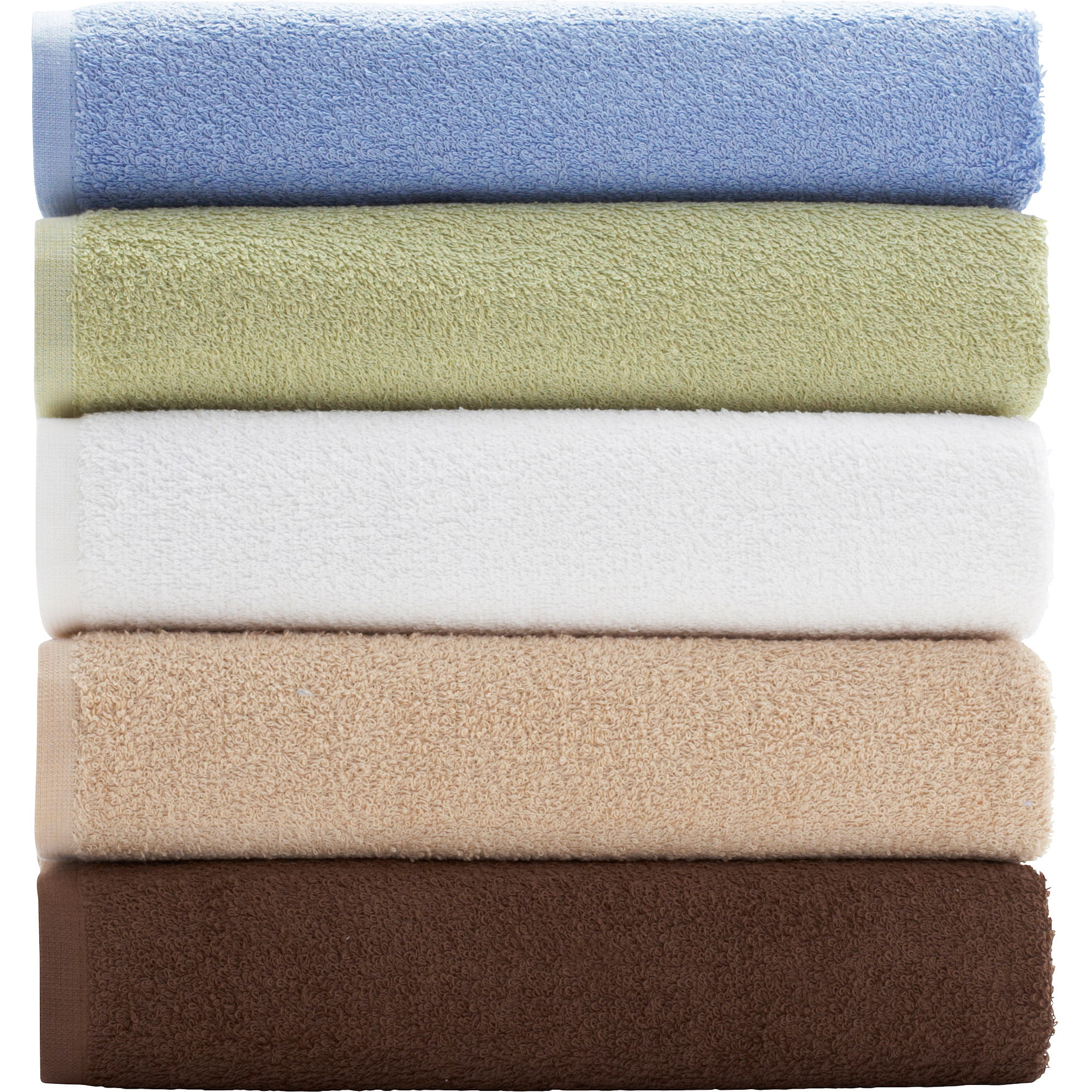 mainstays value bath towel collection - walmart